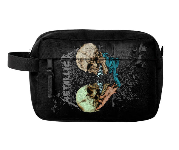 Metallica Sad But True Toiletry Travel Bag