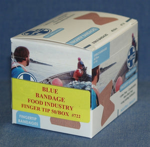 Food Service Blue Finger Tip 50/box