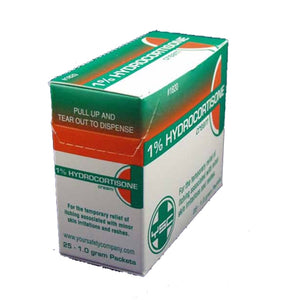 Hydrocortisone Cream 25/bx