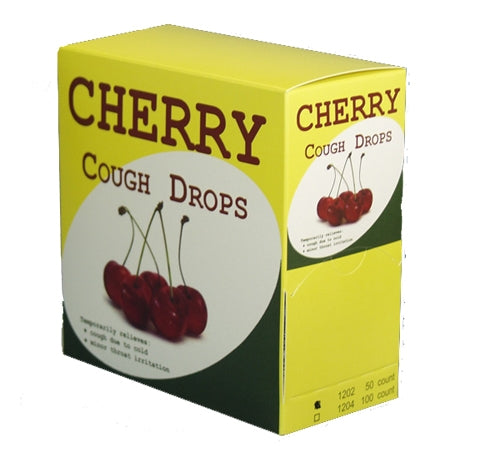 Cherry Cough Drops 100/bx