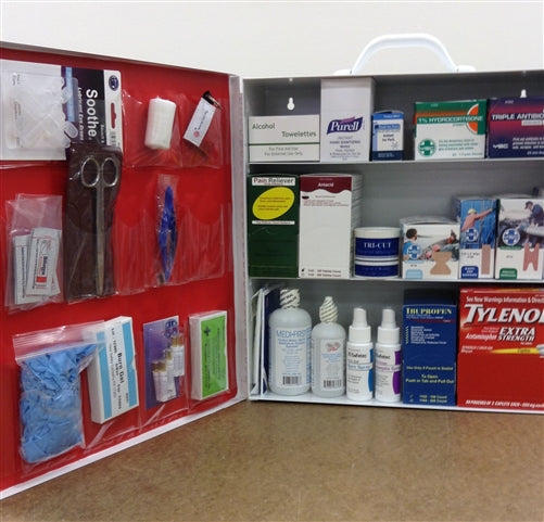 Industial First Aid Cabinet 3 Shelves