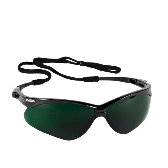 25671 Jackson Safety V30 Nemesis Scratch-Resistant Safety Glasses, Shade 5.0 Lens Color