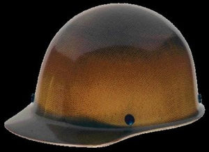 MSA Natural Tan Skullgard Class G Type I Hard Cap With Fas-Trac Suspension And Welder's Lugs