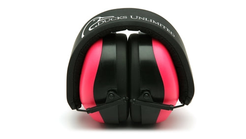 Ducks Unlimited Pink Ear Muff 26db