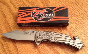 Sturgis 75th Knife Chrome