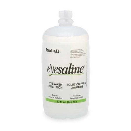 Fend-all® 32 Ounce Bottle Sperian Sterile Saline Personal Eye Wash