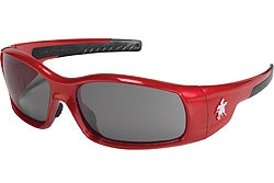 Crews Glasses Swaggeer® Red frame, Gray  anti-fogLens