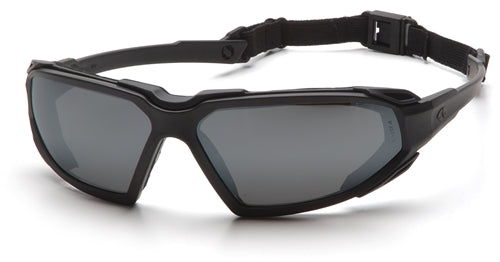 Pyramex Highlander Black Gray Lens