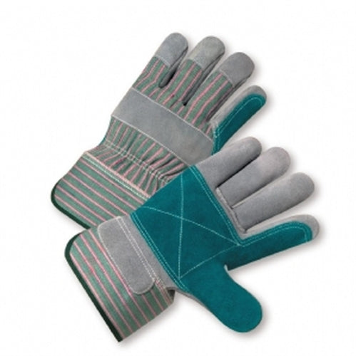 Double Palm Gloves Select Split Cowhide Leather XLarge