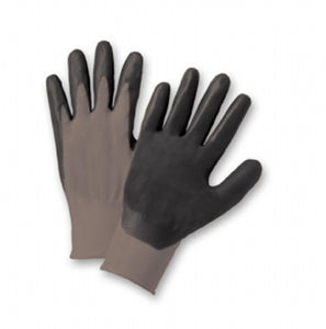 Foam Nitrile Palm Coated Nylon Gloves Large