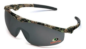 Crews Glasses Mossy Oak® Camo frame, Gray lens
