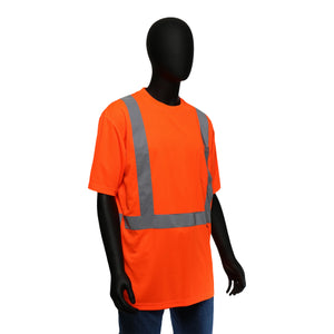 Hi-Viz Economy Safety Shirt Short Sleeved Orange Class 2