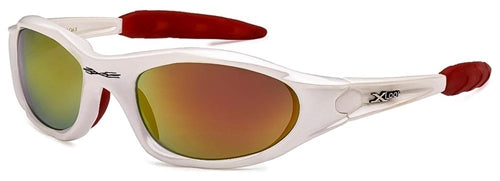 X-Loop Sunglasses White Red