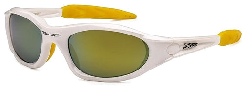 X-Loop Sunglasses White Yellow