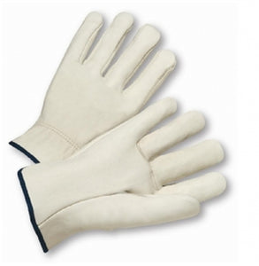 Driver Glove Select Grain Cowhide Straight Thumb Medium