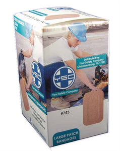 Large Patch Bandage 2x3 25/b