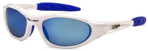 X-Loop Sunglasses White Blue BLMir