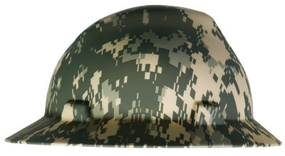 MSA Camouflage V-Gard Freedom Series Class E Type I Hardhat With Fas-Trac Suspension