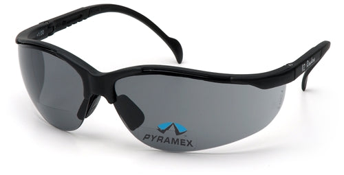 Pyramex V2-Readers  +1.5 Gray Lens