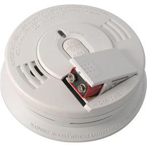 Fire Protection Wire-In CO/Smoke Alarm w/ Voice Warning & Battery Backup