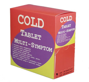 Cold Tablet Multi-Symptom 50-2's