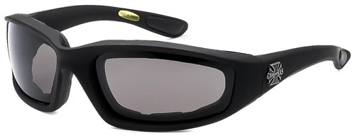 Chopper Foam Padded Sunglasses Smoke