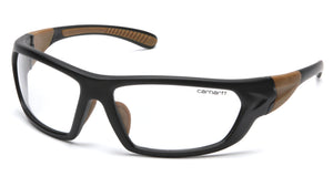 CHB210DT CARBONDALE Clear Anti-Fog Lens with Black/Tan Frame (polybag)