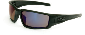 S2945 Matte Black Frame Blue Mirror Lens, Hardcoat