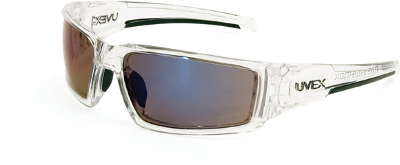 S2975HS Clear Ice Frame Blue Mirror Lens, Hardcoat