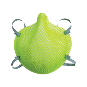 Disposable Particulate Respirator N95 Hi-Vis Green