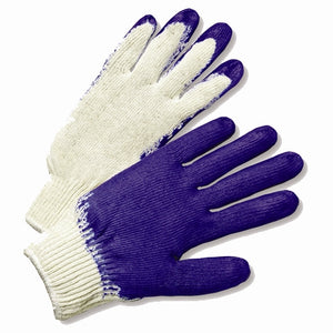 Latex Coated Knit Gloves  Large