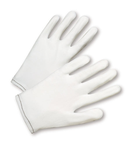 100% Nylon Lisle Gloves Large