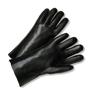 "Standard Smooth Grip PVC Interlock 12"" Gloves"