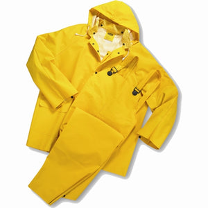 35ml PVC over Polyester 3pcs Rainsuit XLarge