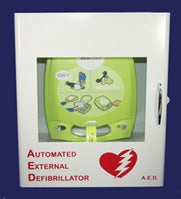 ZOLL AED PLUS Wall Cabinet (with alarm)