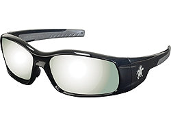 Crews Glasses Swaggeer® Black frame, Silver Mirror Lens