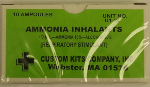 Ammonia Inhalants 10/pk