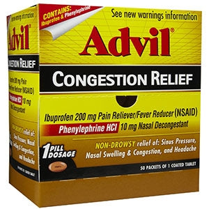 Advil Congestion Relief 50-1's