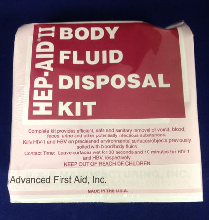 Body Flid Disposal Kit