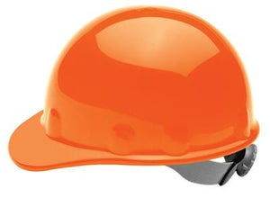 Fibre-Metal Hi-Viz Orange SUPEREIGHT SWINGSTRAP Class E, G or C Type I Thermoplastic Hard Hat With 3-S Swingstrap Suspension