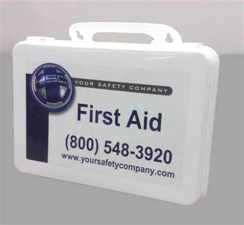 Standard Vehicle First Aid Kit - Plastic Case