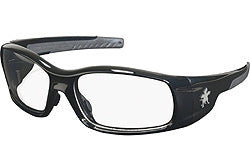 Crews Glasses Swaggeer® Black frame, Clear Lens
