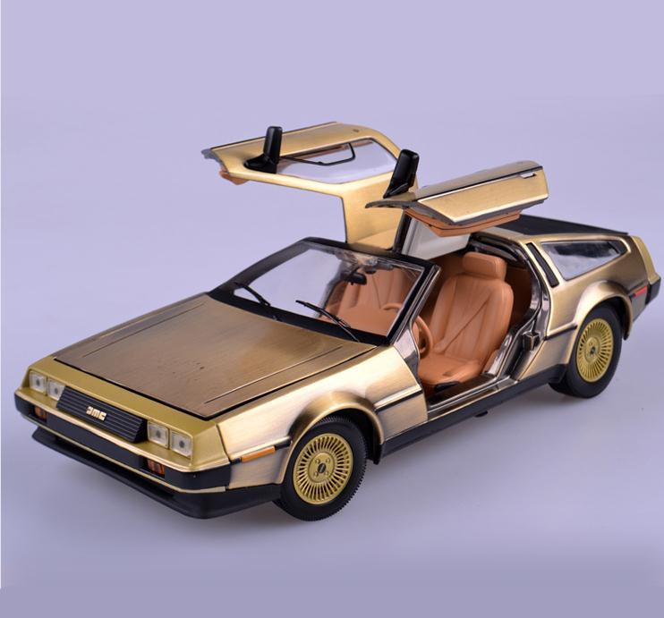 back to the future Diecast Model  Scale 1:18  Free Shipping