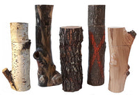 Rare tree branch pepper mills