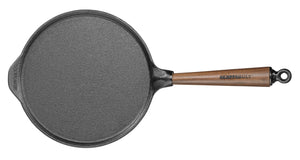 Skeppshult 23 cm Pancake Pan with Walnut Handle