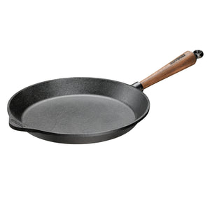 Skeppshult 28 cm Frying Pan with Walnut Handle