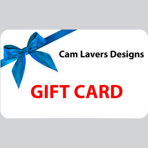 Cam Lavers Designs gift card, starting at