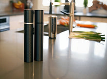 """Karbon Mill"" Carbon Fiber Salt & Pepper Mill Set"