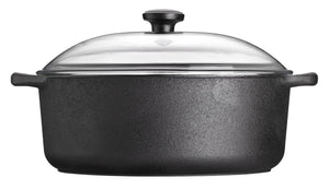 Skeppshult 5.5 Liter Casserole Dish with Glass Lid
