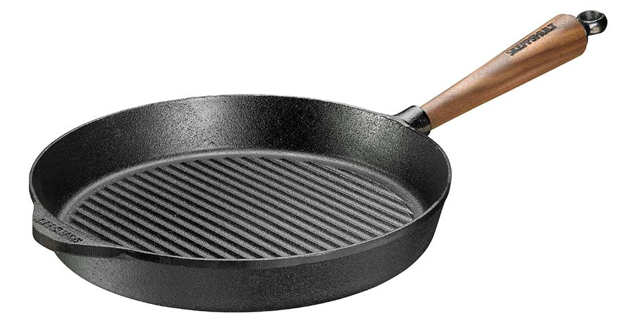 Skeppshult 28 cm Grill Pan with Walnut Handle